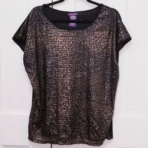 BEVERLY DRIVE Leopard Top